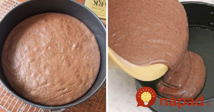 Nadýchaný ako obláčik: Fantastický olejový korpus na tortu, tmavý aj svetlý!