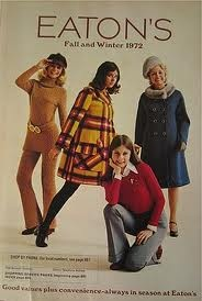 The T.Eaton's 1972 catolog, it's gone now but was a great store to shop in