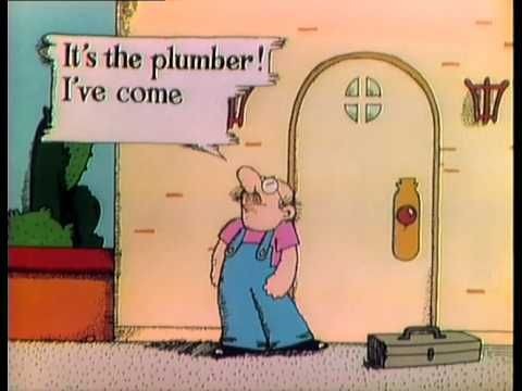 Electric Company - The Plumber  Nostalgic, yes, but I can also use it to teach making inferences :)