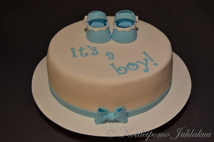 It's a boy! baby cake