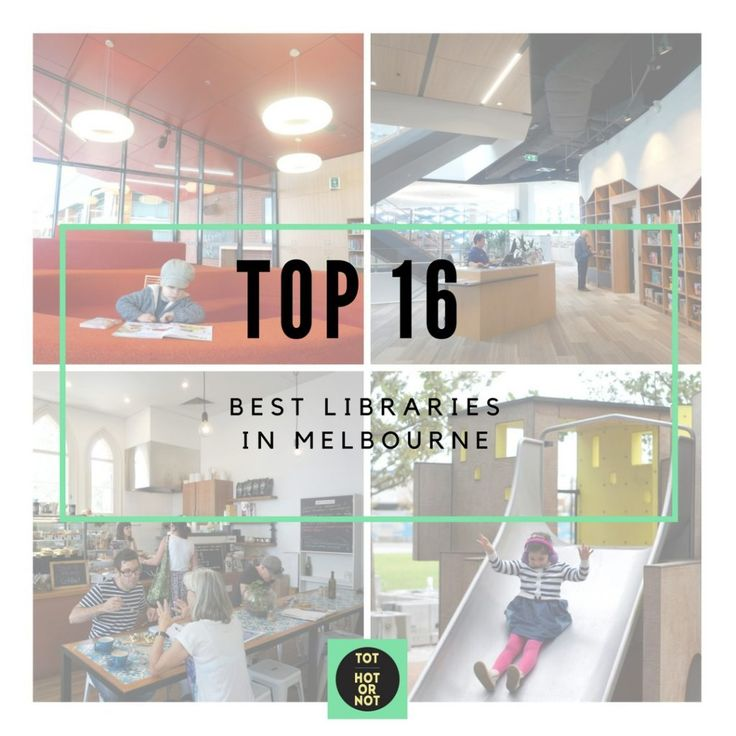 The HOT List: 16 Best Libraries in Melbourne http://tothotornot.com/2016/08/best-libraries-melbourne/
