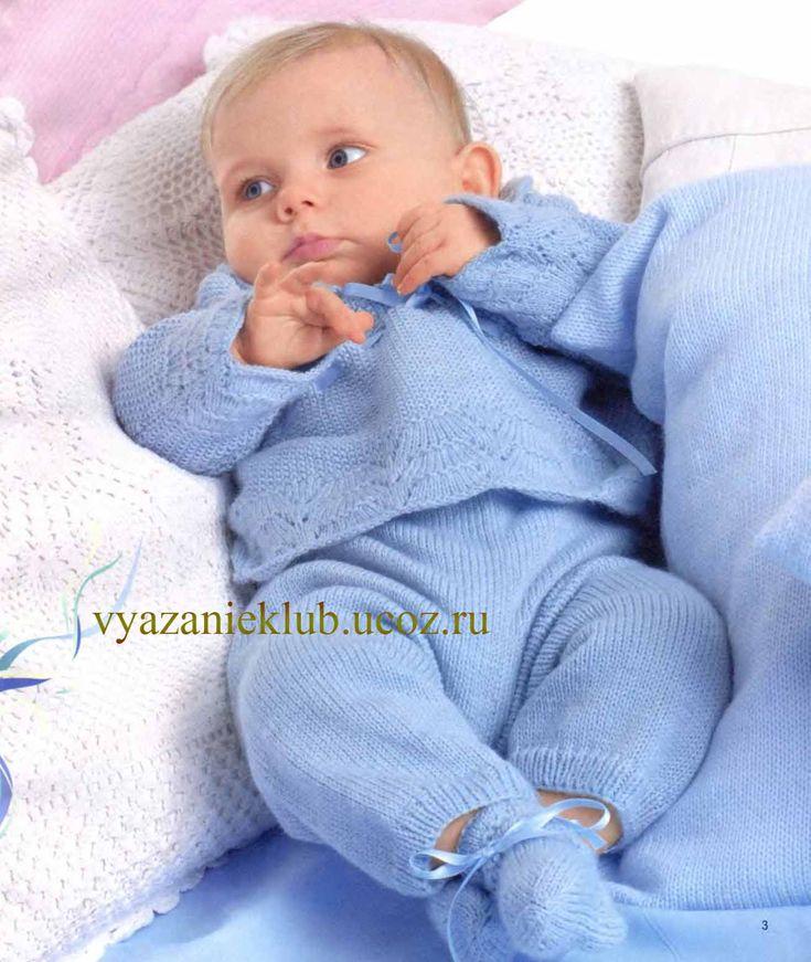 Пуловер и штанишки - Для детей до года - Каталог файлов - Вязание для детей