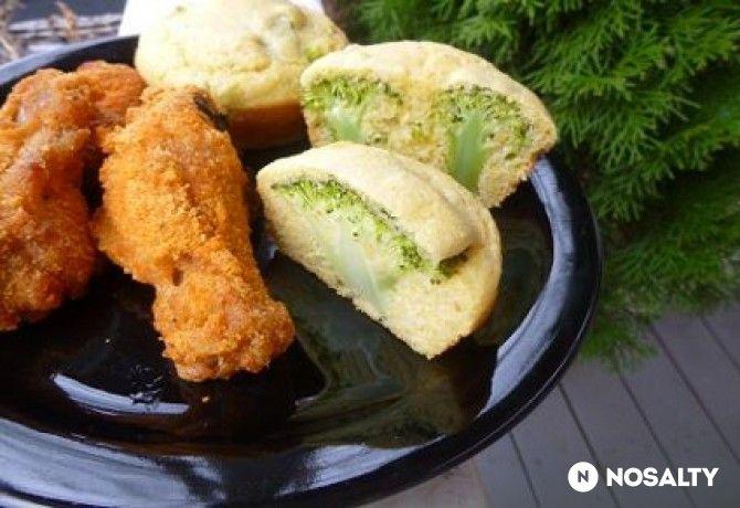Brokkolis muffin witch konyhájából