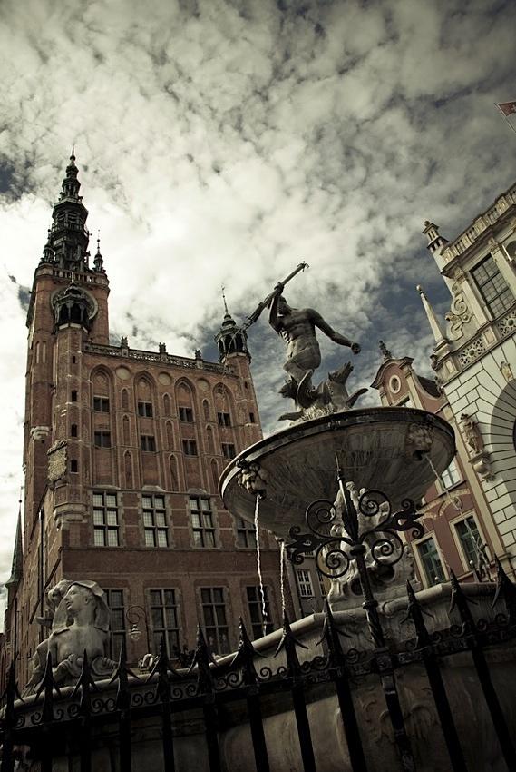 #Neptune #Gdansk #clouds