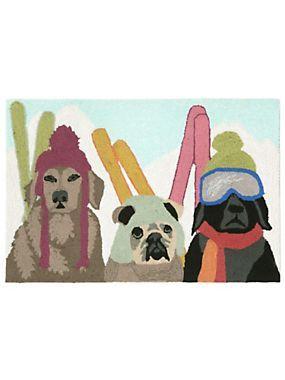 Ski Patrol Dog Rugs | Skiing Dogs These Ski Patrol Dogs Keep Patrolling  Cool. The