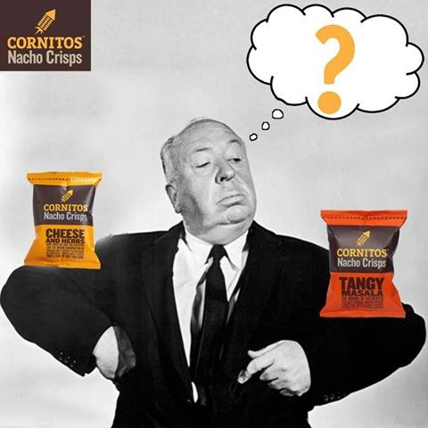 Can you guess who is this famous personality? Which CORNITOS! Flavour he would have Chosen to beat the Monday blues and why?
