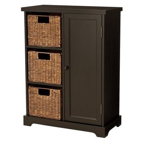 Superb Entryway Storage Cabinet   Espresso