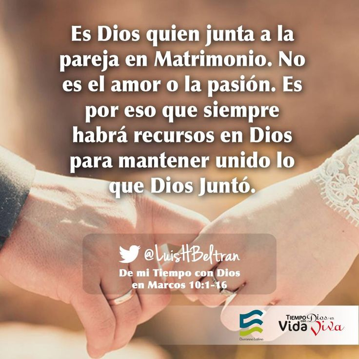 Matrimonios cristianos on Pinterest   Dios, El Amor and Biblia