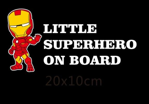 Little Superheroes Baby On Board Car-Styling Reflective Car Decals - //Price: $9.99 & FREE Shipping// #CarDoings #Cars #Automotive #Ferrari #BMW #M3 #M4 #M5 #Mercedes #AMG #Porsche #Audi #Honda #Ford #Volkswagen #Volvo #Kia #Mazda #Chrysler #Subaru #Lexus #Dodge #Hyundai #Chevrolet #Jeep #Nissan #Toyota #Tesla #Car #Supercar
