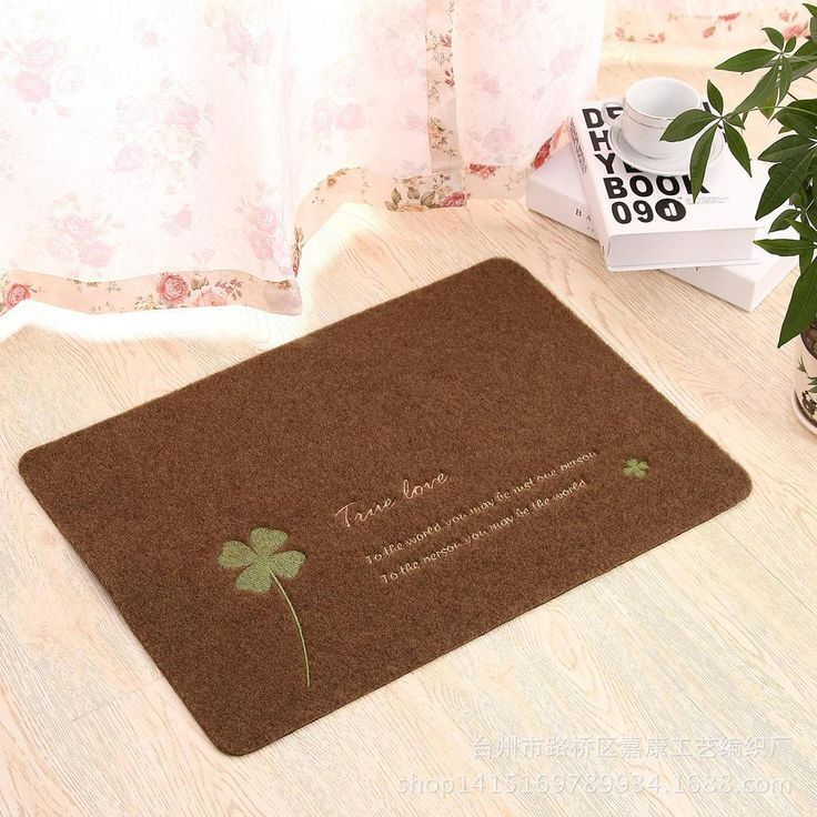 2015 Hot Sale Polyester Doormat Entrance Door Carpet Rub Land Thin Non-slip Mats Bathroom Kitchen Doors Mat For Home Decoration #Affiliate