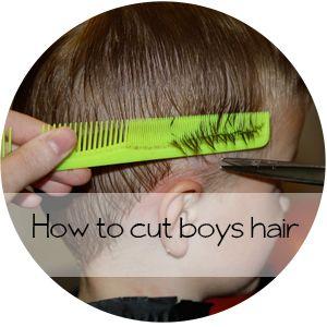 How to cut boys hair    Shwin&Shwin