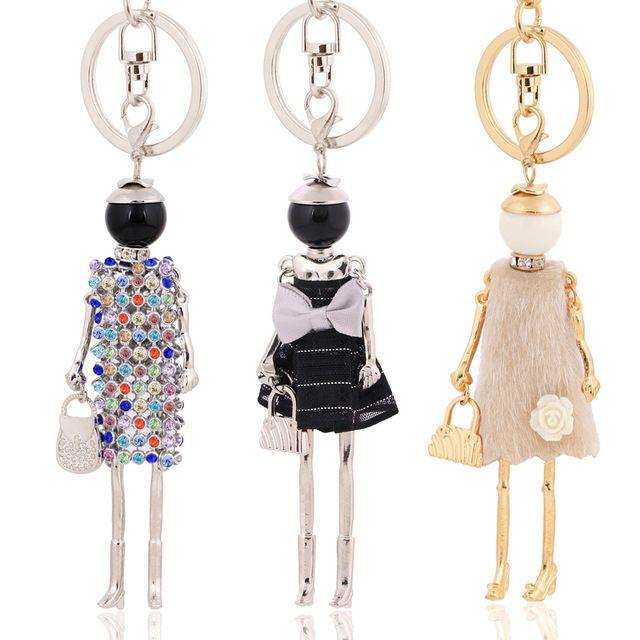 chenlege wholesale fashion key chains bag keyrings charms