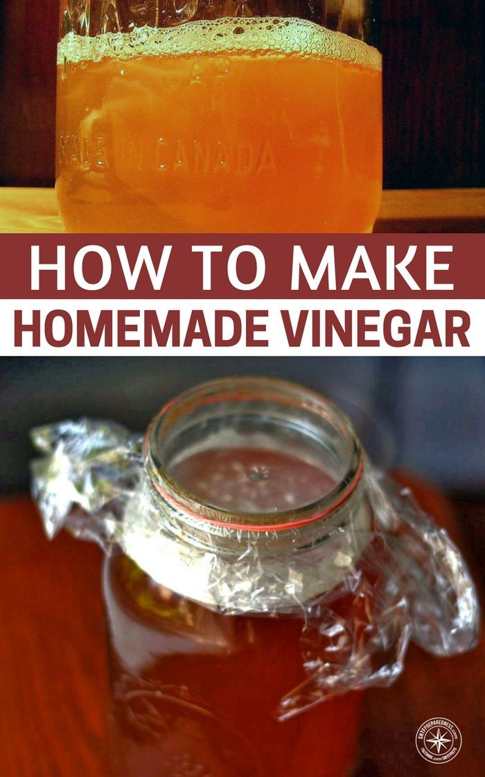How To Make Homemade Vinegar - When choosing an alcoholic beverage, try to use wine or beer with around 6% percent alcohol as I've learned this works best #vinegar #diy #natural #frugal