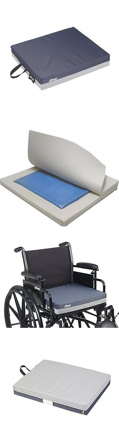Accessories: Drive Medical Gel E 3 Wheelchair Seat Cushion Skin Protection 18 X 16 X 3 New -> BUY IT NOW ONLY: $33.93 on eBay!