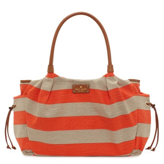 jubilee stripe stevie baby bag. oh yes i did.
