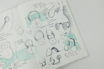 [제품디자인] Moktak - 스피커 디자인 / 공모전 판넬 디자인 : 네이버 블로그