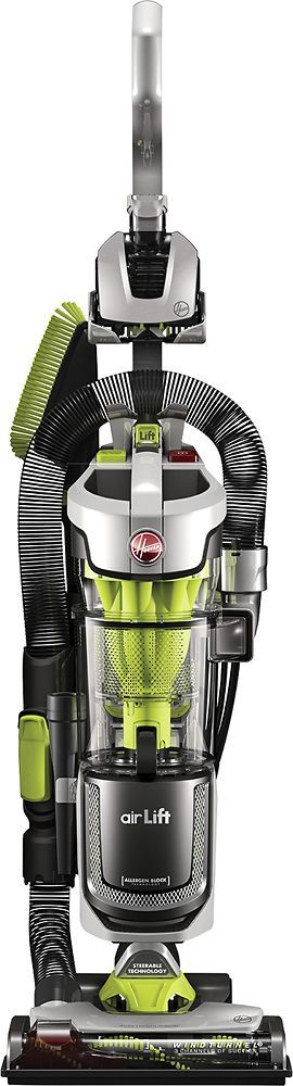 Hoover - Air Lift Deluxe Bagless Upright Vacuum - Silver, UH72511