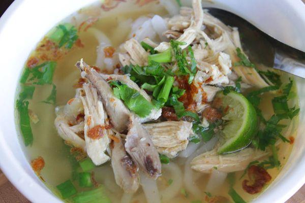 Lao Noodle Soup (Khao Piak Sen)