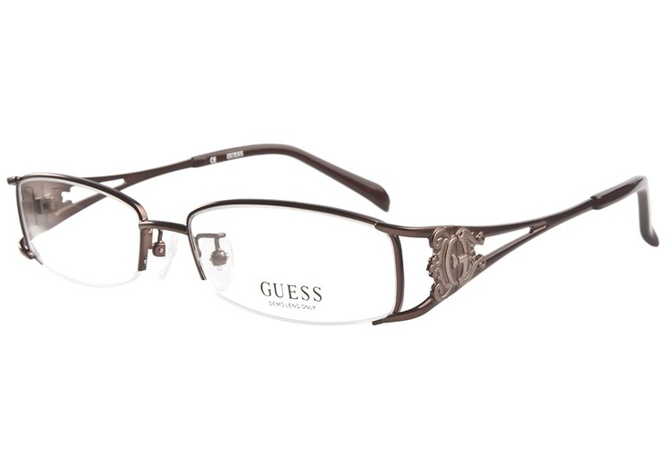 Guess 1665 Dark Brown | It's Your Lucky Day! Love this frame? Re-pin it for your chance to win it!