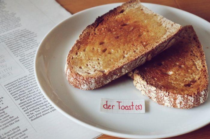 der Toast - toast