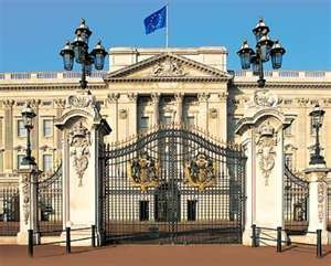 Buckingham Palace, London England - a great trip with my Grandparents