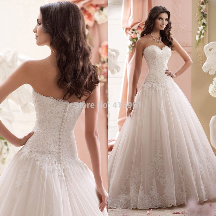 Beautiful Vintage Corset Wedding Dresses Design