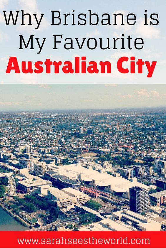 Sydney was my favorite Australian city for a long time, until I visited Brisbane. The 2 days I spent in this city were not enough! Check out these 5 reasons why Brisbane is my new favourite Australian city and why it will quickly become yours too. too. Don't forget to save this to your travel board.https://sarahseestheworld.com/favourite-australian-city-brisbane/
