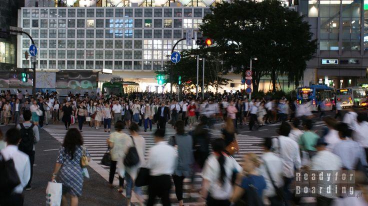 Japonia, dzień 1 - wspaniałe Tokio!  // Japan, Day 1 - gorgeous Tokyo! #tokyo #shibuya   #readyforboarding
