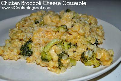 nICeats: Chicken Broccoli Cheese Casserole. IC-Diet, Ic-friendly food, interstitial cystitis