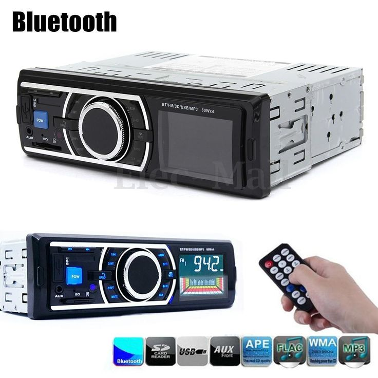 Car Radio Bluetooth Handsfree In-Dash Support USB/SD MMC Port 12V Car Stereo FM Radio MP3 Audio Player