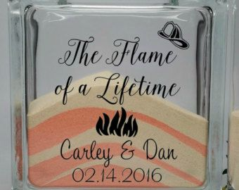 Firefighter Wedding Decor - Unity Sand Set - Fireman Wedding Theme - Unity Sand…