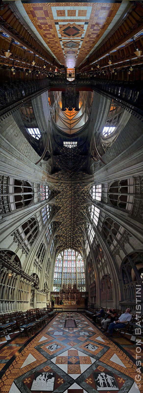Gloucester Cathedral or the Cathedral Church of St Peter and the Holy and Indivisible Trinity, England, United Kingdom | Flickr - Photo Sharing!