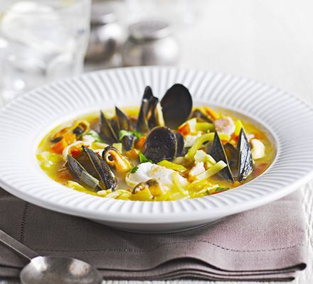 French country fish & mussel stew | Recipe