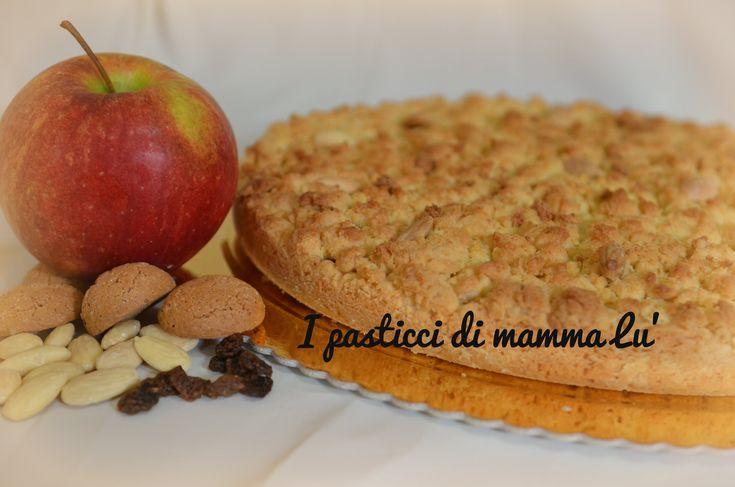 Sbriciolona della nonna crema e mele