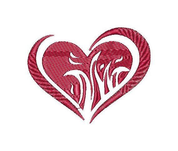 Hearts, love, Valentine, machine embroidery design