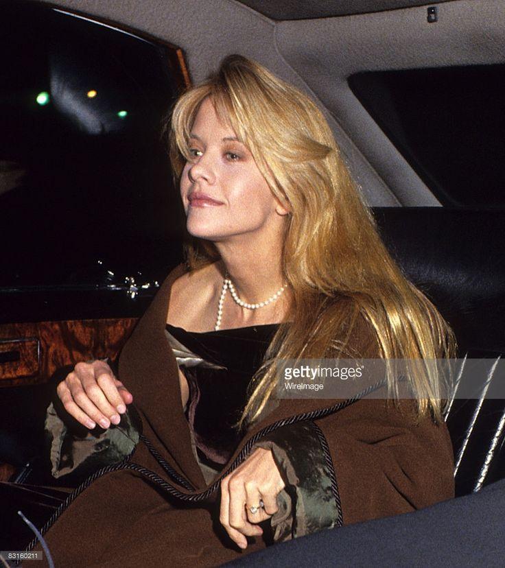 London December 2nd 1989. Meg Ryan at film premiere of 'When Harry met Sally'