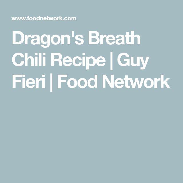 Dragon's Breath Chili Recipe   Guy Fieri   Food Network