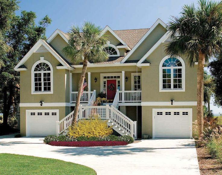 Best Beach House Plans Images On Pinterest Live Home And