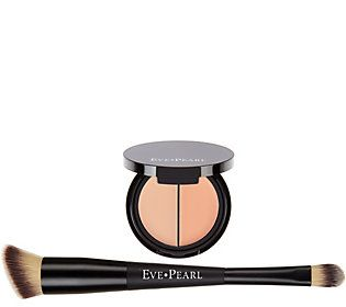 EVE PEARL Dual Salmon Concealer & Brush w/ Blender