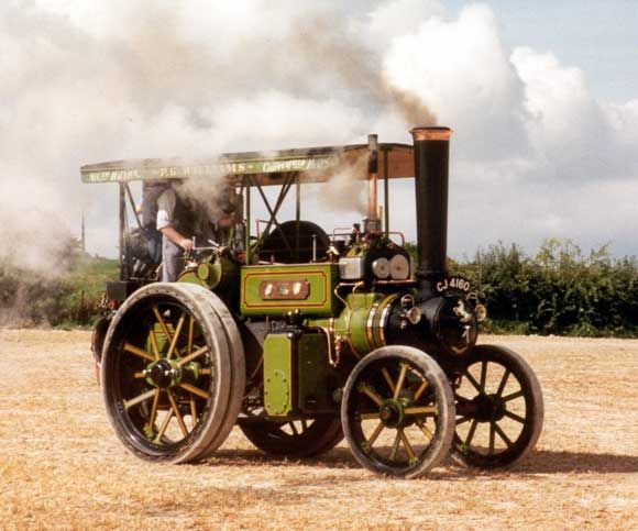 Antique Steam Tractor