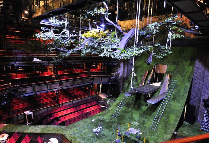 The Heart of Robin Hood  Year: 2011   Designer: Borkur Jonsson   Venue: Royal Shakespeare Theatre, Stratford-upon-Avon
