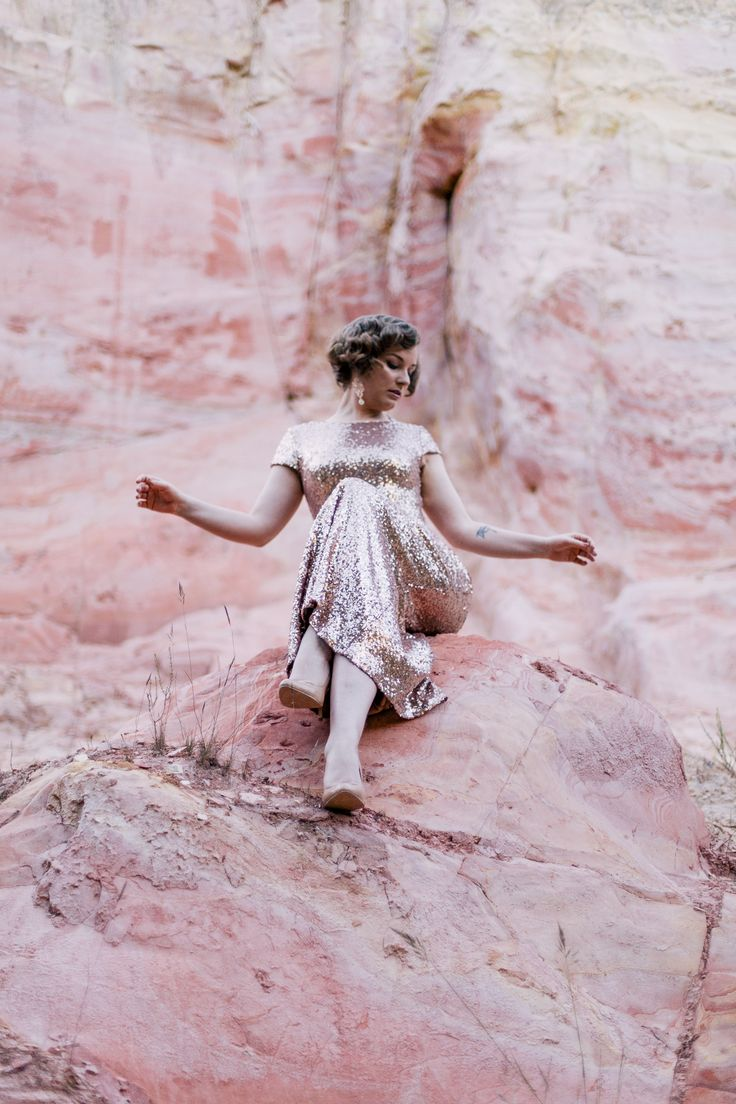 Pretty Flamingo Photography. Ballarat Editorial. Pink Rock with Finding Femme