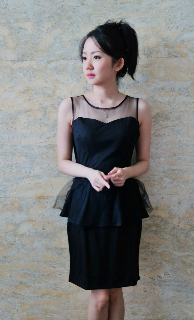 Tutu peplum black dress/bust up to 120/length 84/250k/ Email: order@fellinboutique.com, LINE: FellinBoutique, BBM: 7637D27C