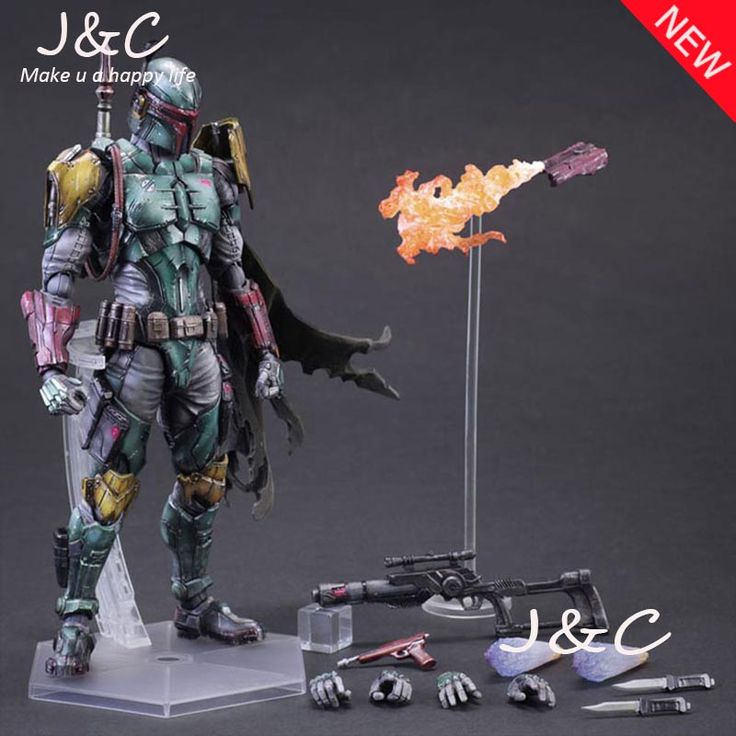 Play Arts Kai PA Star Wars Boba Fett Figure Model PA 27cm PVC Action Figure Doll Toys Kids Gift Brinquedos //Price: $US $39.10 & FREE Shipping //     #rchelicopters