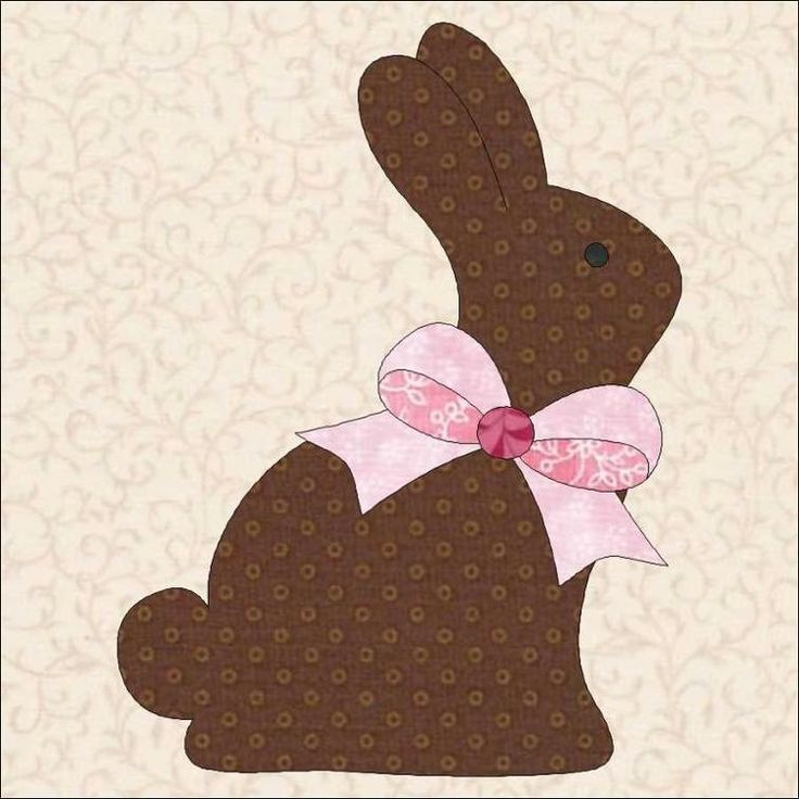 295 best mug rug easter images on pinterest container garden free easter 2015 chocolate bunnies kissing craftsy chocolate easter bunnyquilted giftseaster negle Gallery