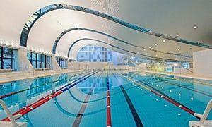 The Ian Thorpe Aquatic Centre, designed by Harry Seidler