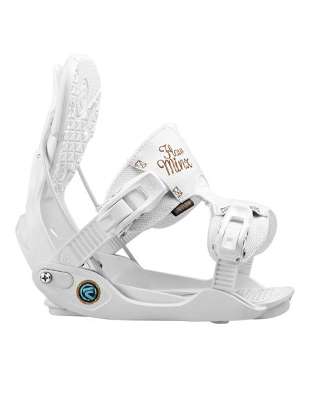 The MINX is one of the most requested women's bindings Flow makes, offering women's specific features that work with your natural curves.