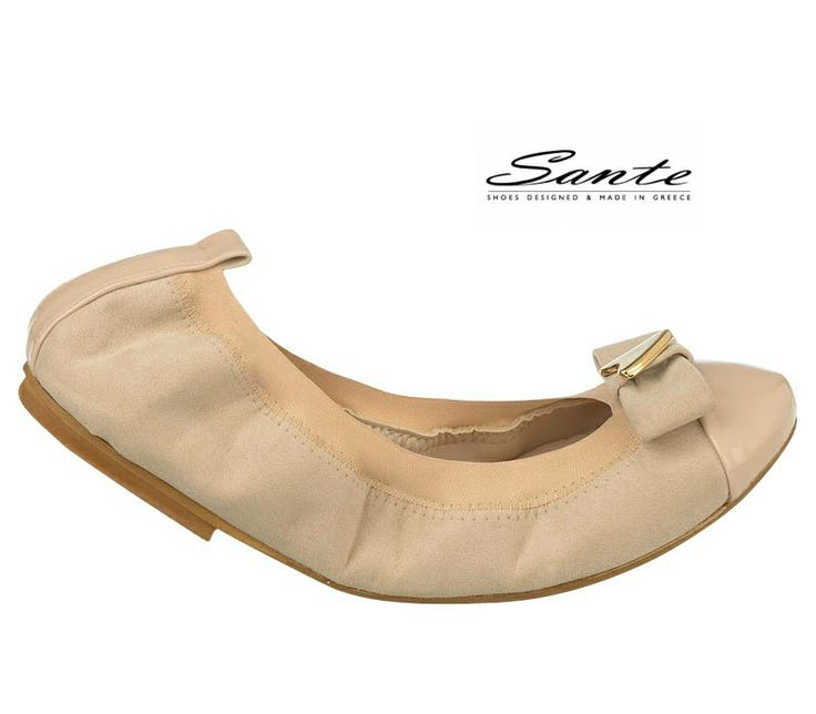 Sante Ballerinas Spring/Summer 14 Collection. Discover it on: www.santeshoes.gr