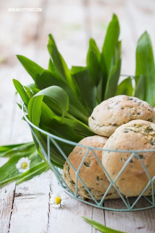 Bärlauchbrötchen und Frühlingssalat | Nicest Things - Food, Interior, DIY: Bärlauchbrötchen und Frühlingssalat