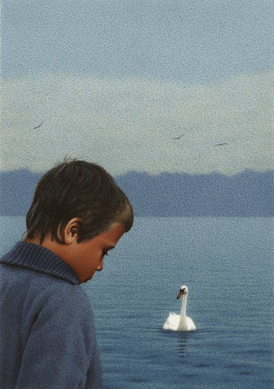 ☆ The Boy and the Swan :¦: By Artist Quint Buchholz ☆